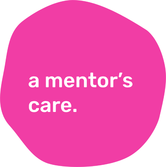 a mentor's care