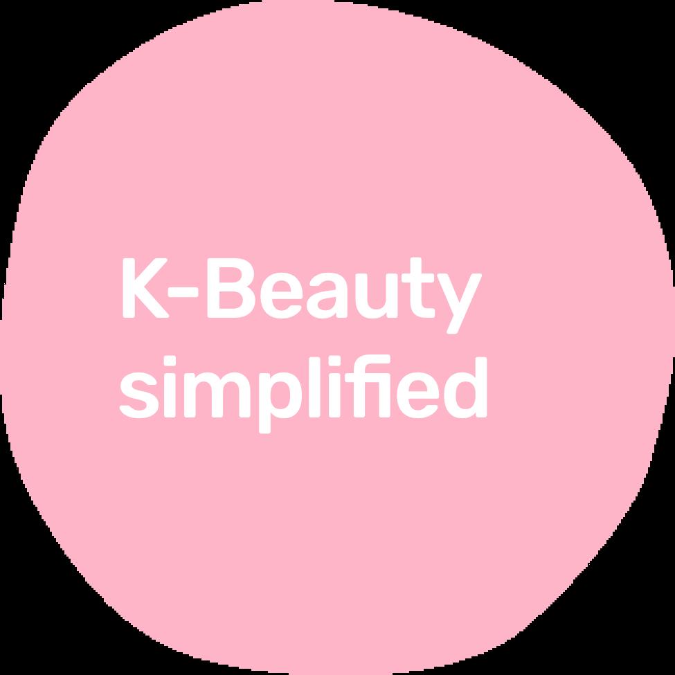 k-beauty simplifed